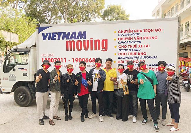 Chuyển văn phòng trọn gói Viet Moving