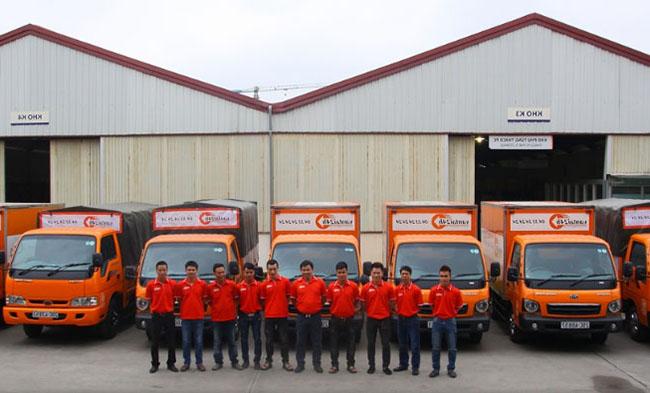 Dịch vụ thuê xe tải chở hàng Hà Nội của Vận Tải 24h