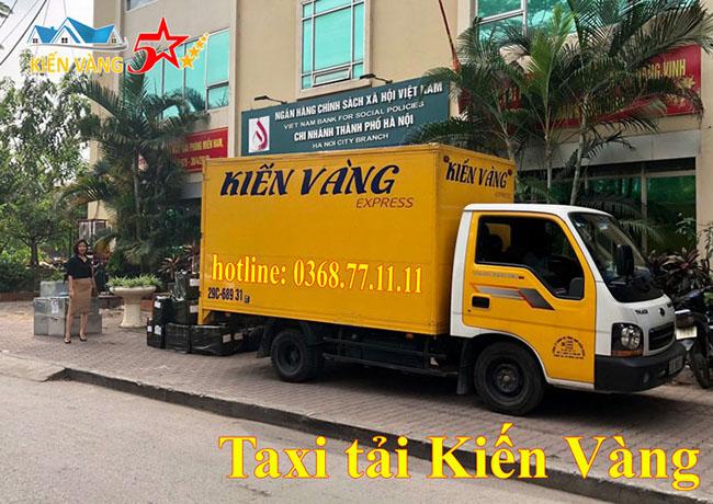Kiến Vàng – Thuê xe tải chở hàng trọn gói tại Hà Nội