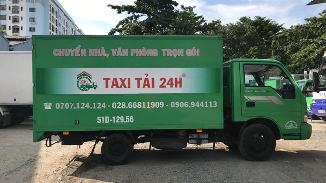 Dịch vụ chuyển nhà Taxi Tải 24h